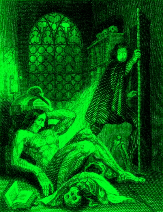 Theodor von Holst - Frankenstein