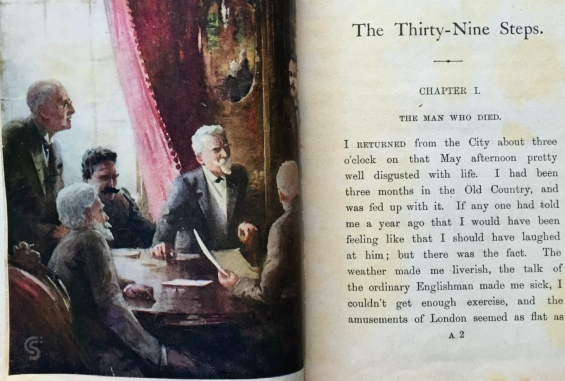 The Thirty-Nine Steps by John Buchan - First Edition