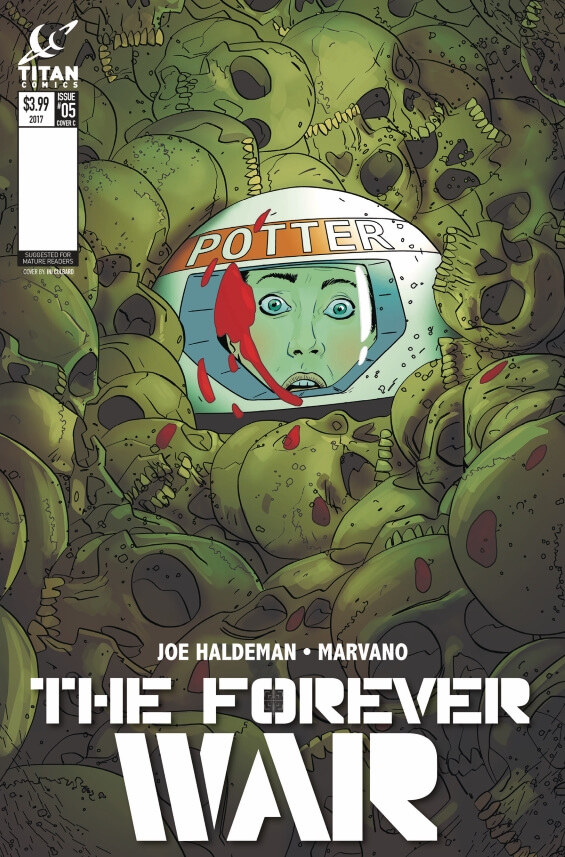 Titan Comics - The Forever War - Issue 5