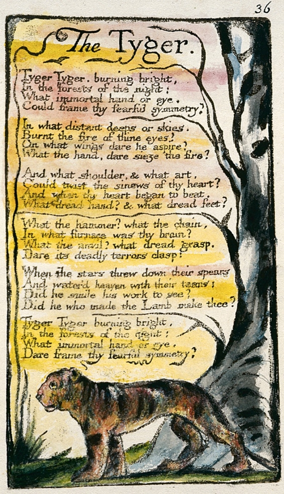 Tyger Tyger by William Blake