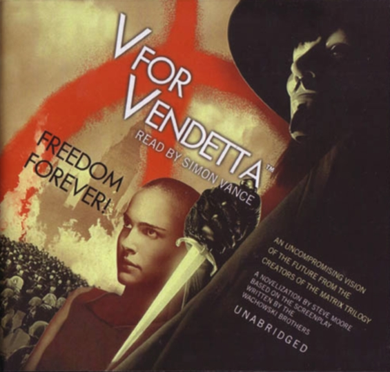 V For Vendetta read by Simon Vance