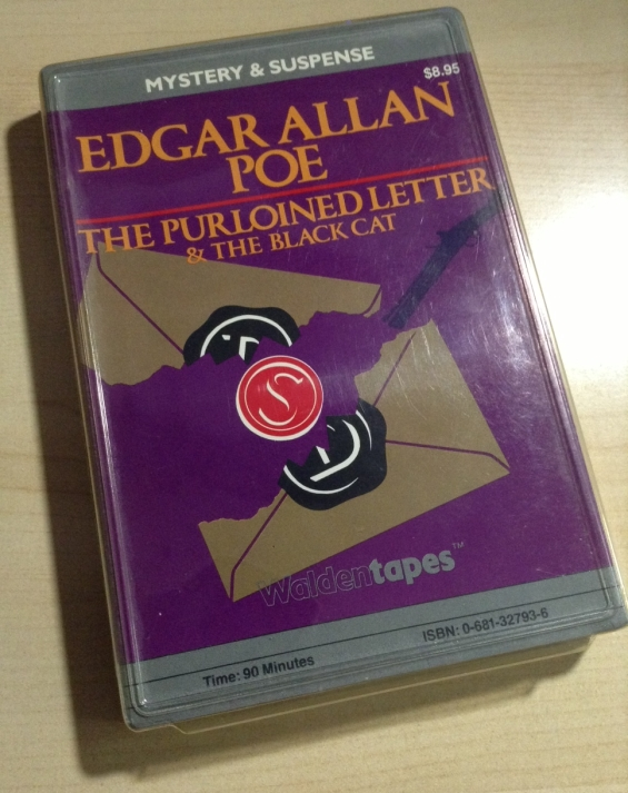 WALDENTAPES - The Purloined Letter and The Black Cat by Edgar Allan Poe