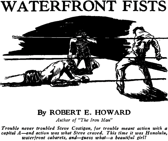 Waterfront Fists by Robert E. Howard