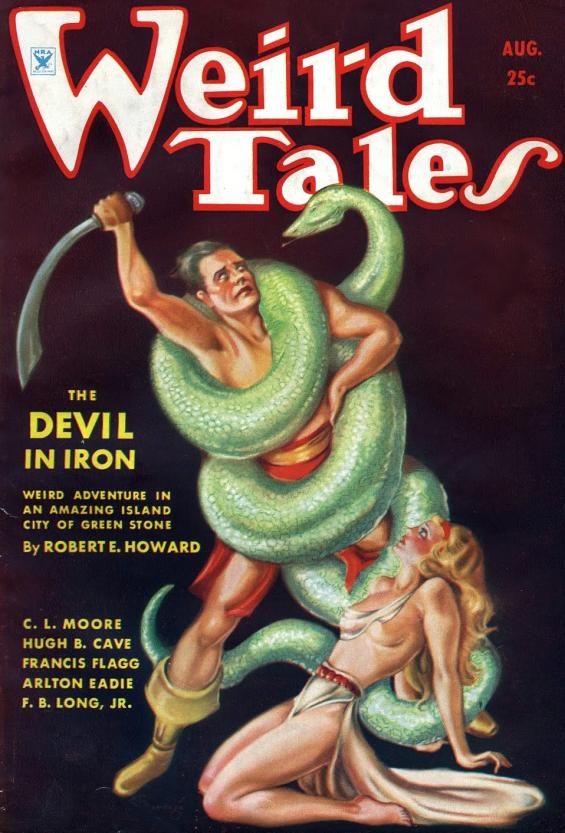 Weird Tales, August 1934