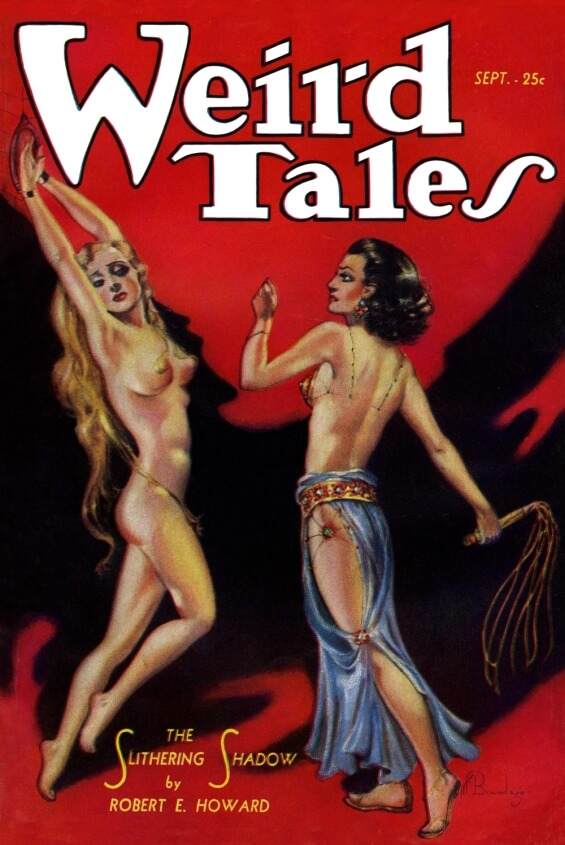 Weird Tales - The Slithering Shadow by Robert E. Howard