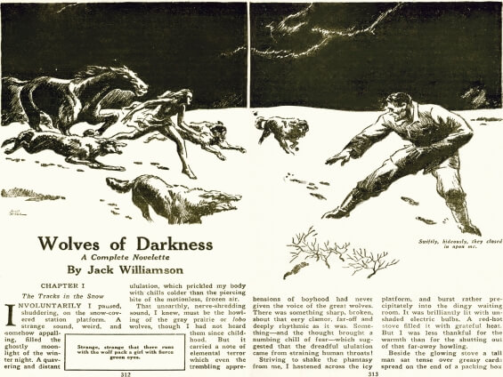 Wolves Of Darkness By Jack Williamson