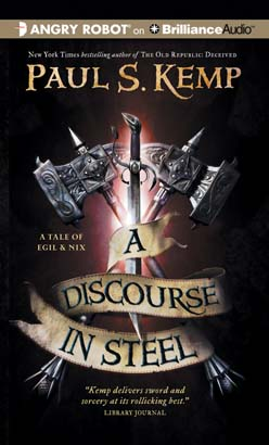 A Discourse in Steel Cover Art