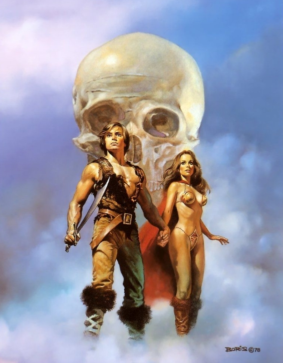 Boris Vallejo cover for The Magic Goes Away