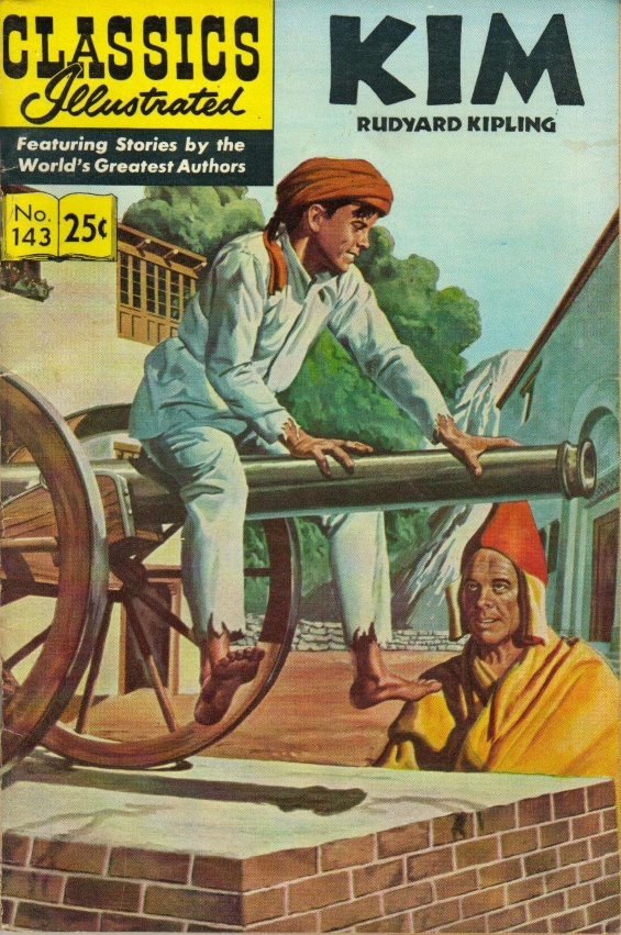 Classics Illustrated - No. 143 Kim by Rudyard Kipling