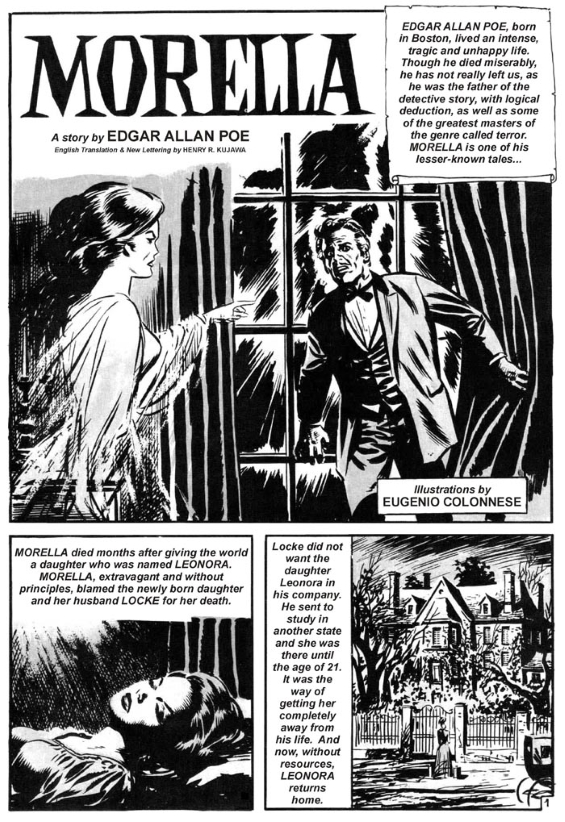 Edgar Allan Poe's Morella - adapted by Eugenio Colonnese