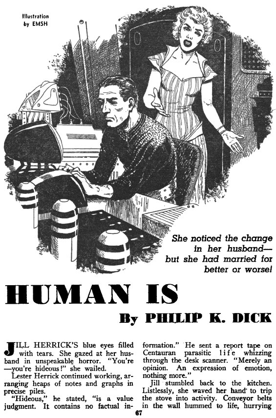 Human Is by Philip K. Dick