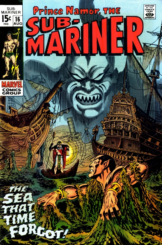 Sub-Mariner, issue 16