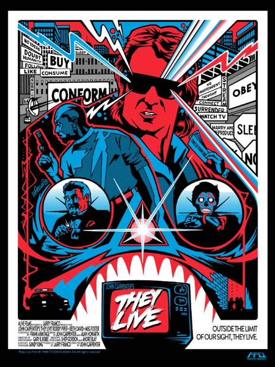 They Live - illustration by Jeremy Wheeler