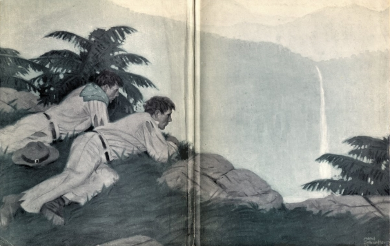 Typee by Herman Melville - Illustration by Mead Schaeffer