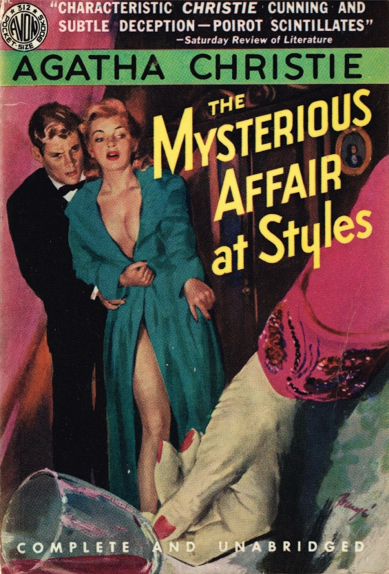 AVON - The Mysterious Affair At Styles by Agatha Christie