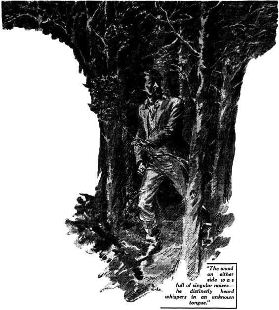 An Occurrence At Owl Creek Bridge - Illustration from Smith's Weekly, March 12, 1938