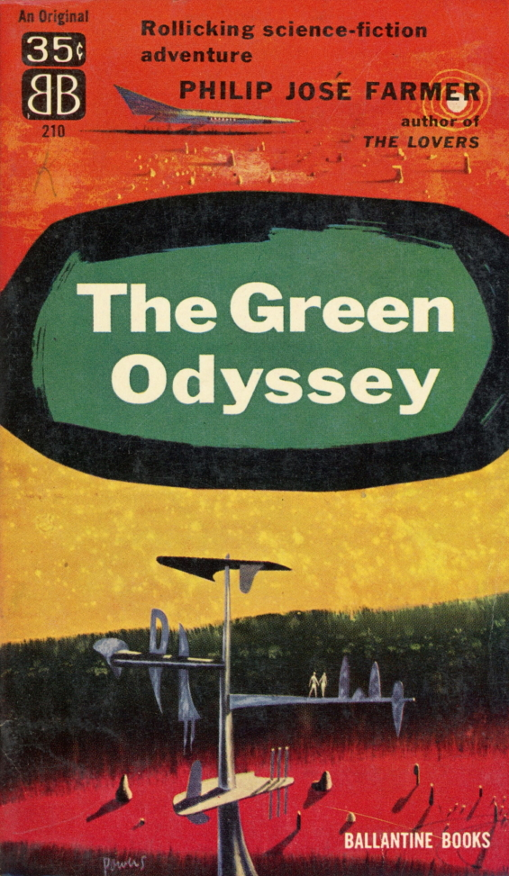 Ballantine Books - The Green Odyssey by Philip Jose Farmer