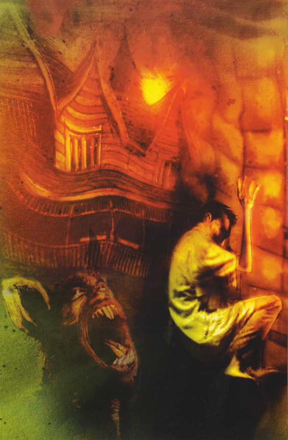 Dreams In The Witch-House - illustrated by Ben Templesmith