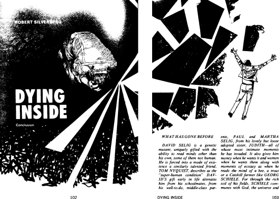 Dying Inside from Galaxy, September 1972