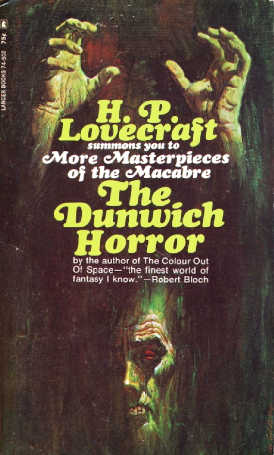Lancer Books - The Dunwich Horror by H.P. Lovecraft