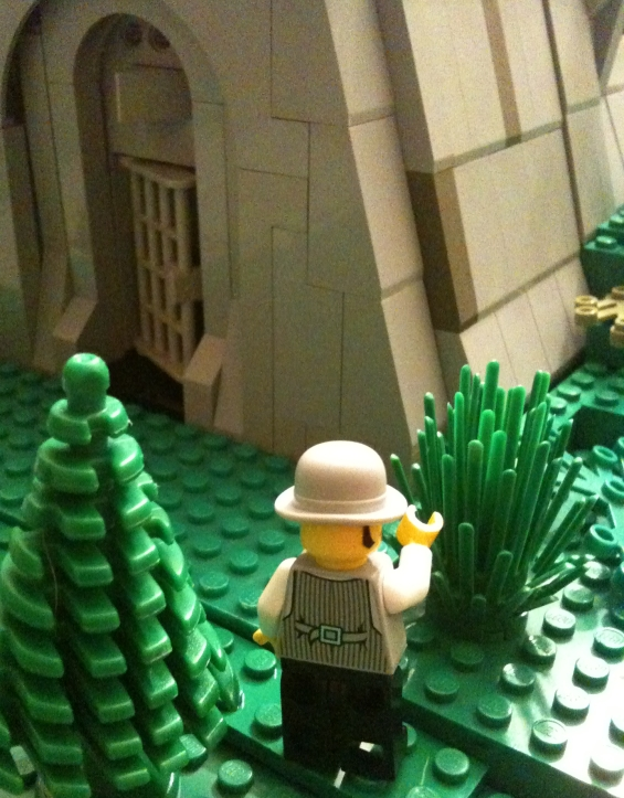 H.P. Lovecraft's THE TOMB legoized by Jesse Willis
