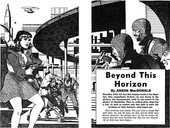 Science Adventure Books, No. 1, Winter 1952 - Beyond This Horizon by Robert A. Heinlein