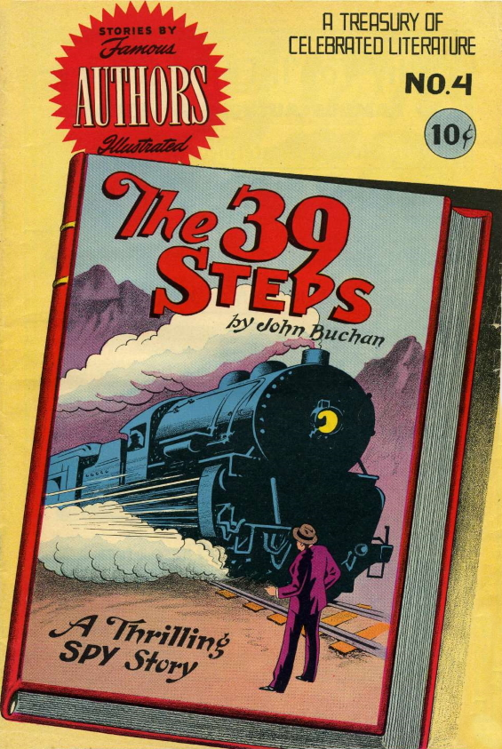 Stories By Famous Authors No. 4 - The 39 Steps by John Buchan