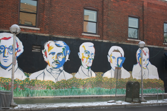 The Bookstore Mural
