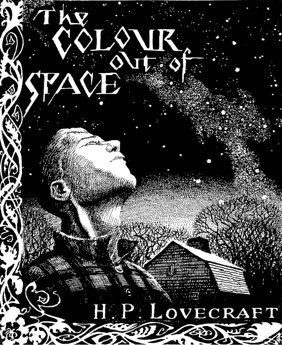 The Colour Out Of Space - Illustrated by Jason Eckhart