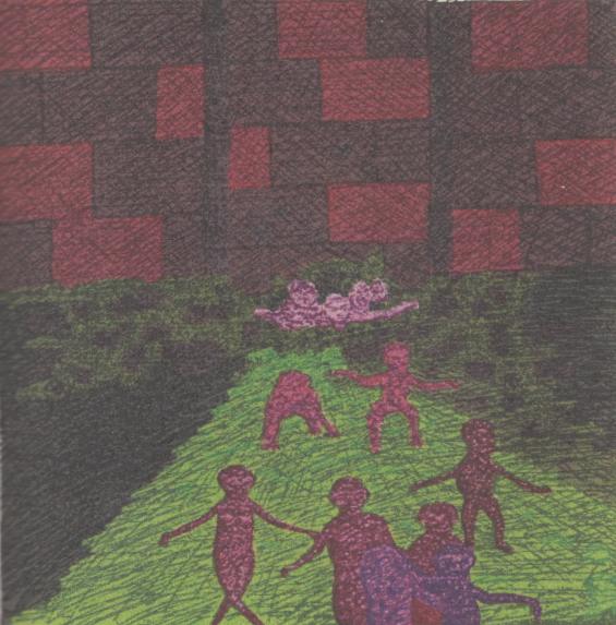 The Lurking Fear - Spreading Like A Septic Contagion - Illustration by Clark Ashton Smith