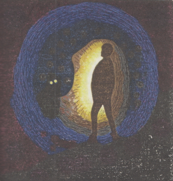 The Lurking Fear - The Eyes And The Claw - Illustration by Clark Ashton Smith