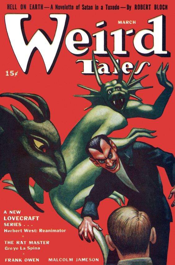 Weird Tales, March 1942