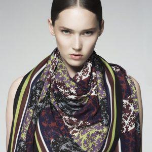 Olive Tree scarf