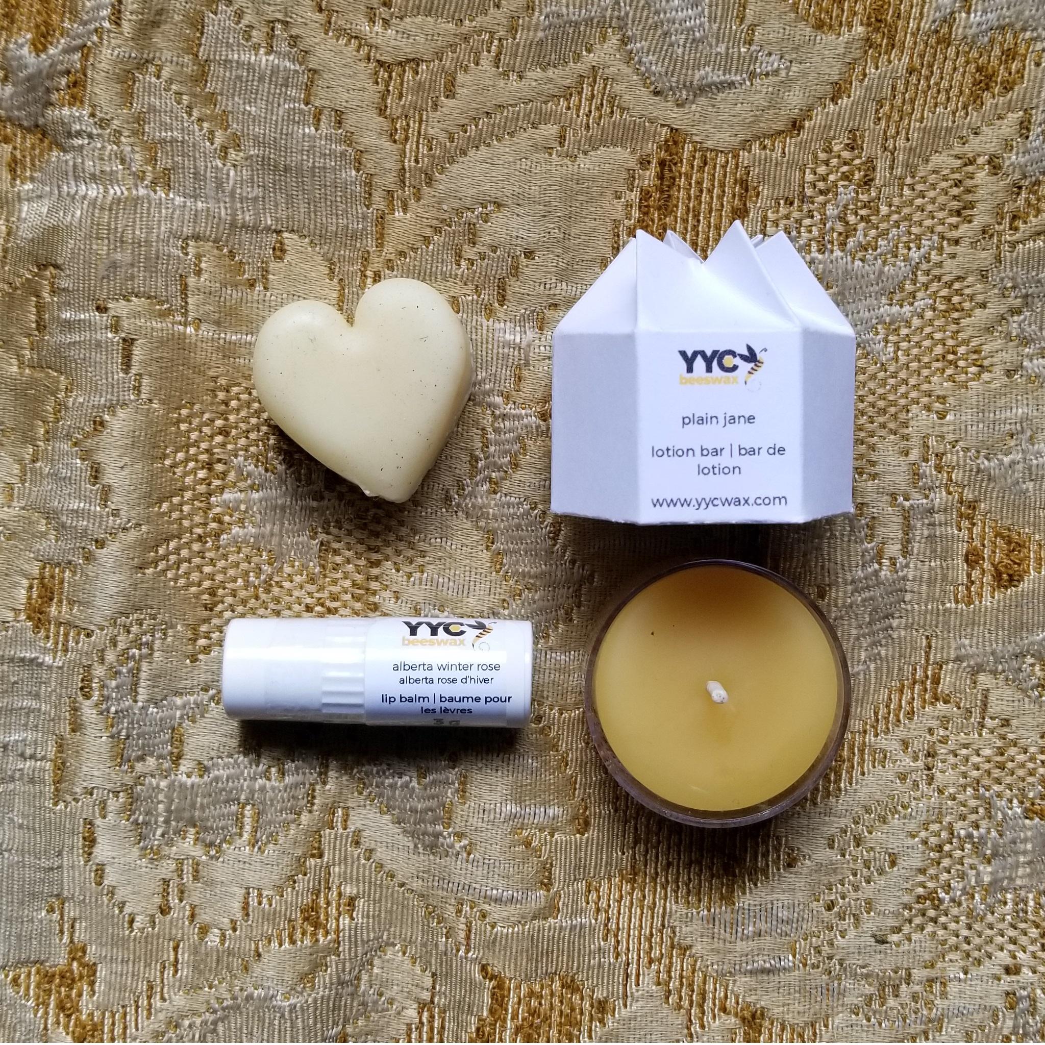 YYC Beeswax Mini Self Care Kit