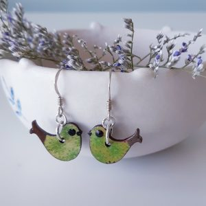 Bird Earrings by MarMoo