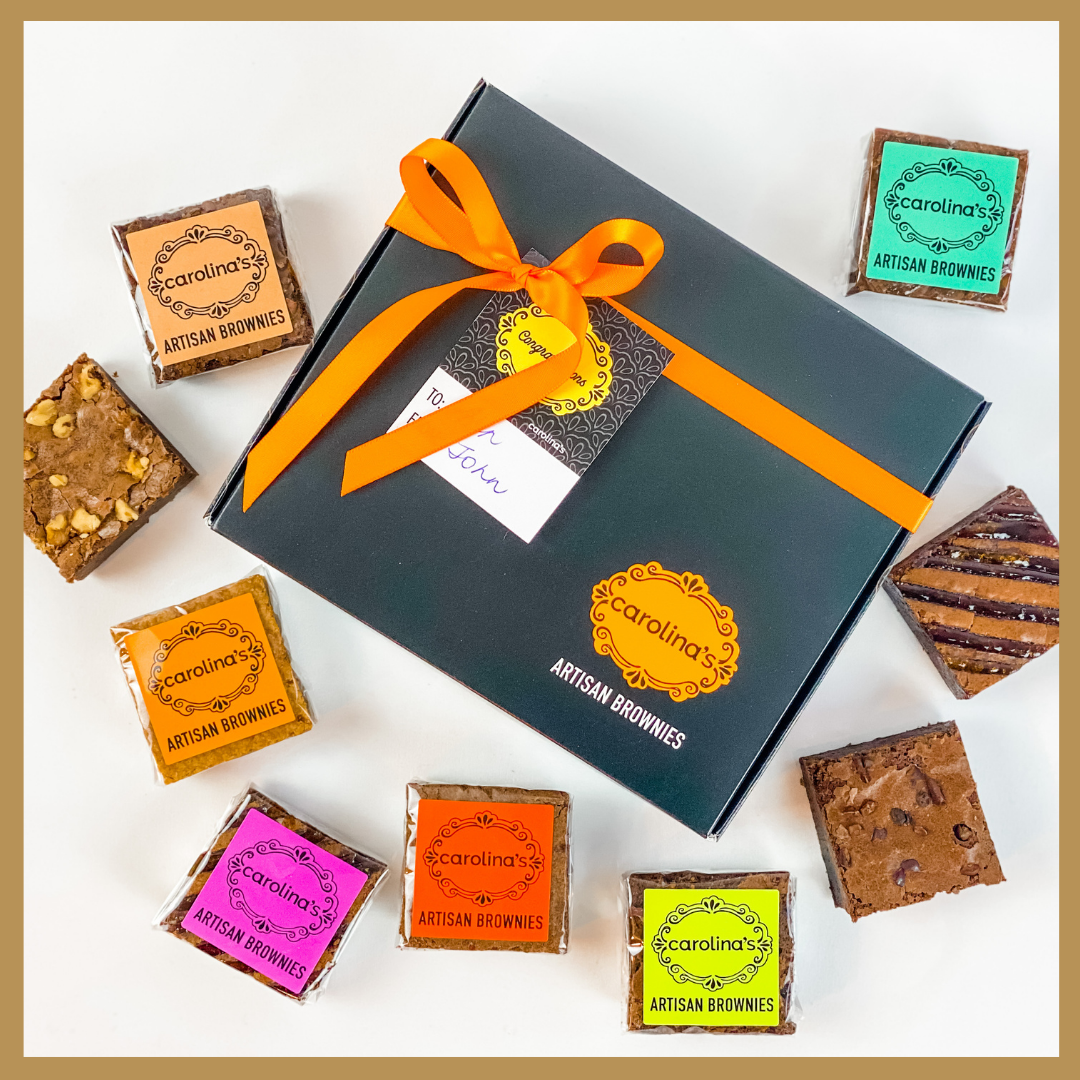 Carolina's 9 Brownies Gourmet Gift Box