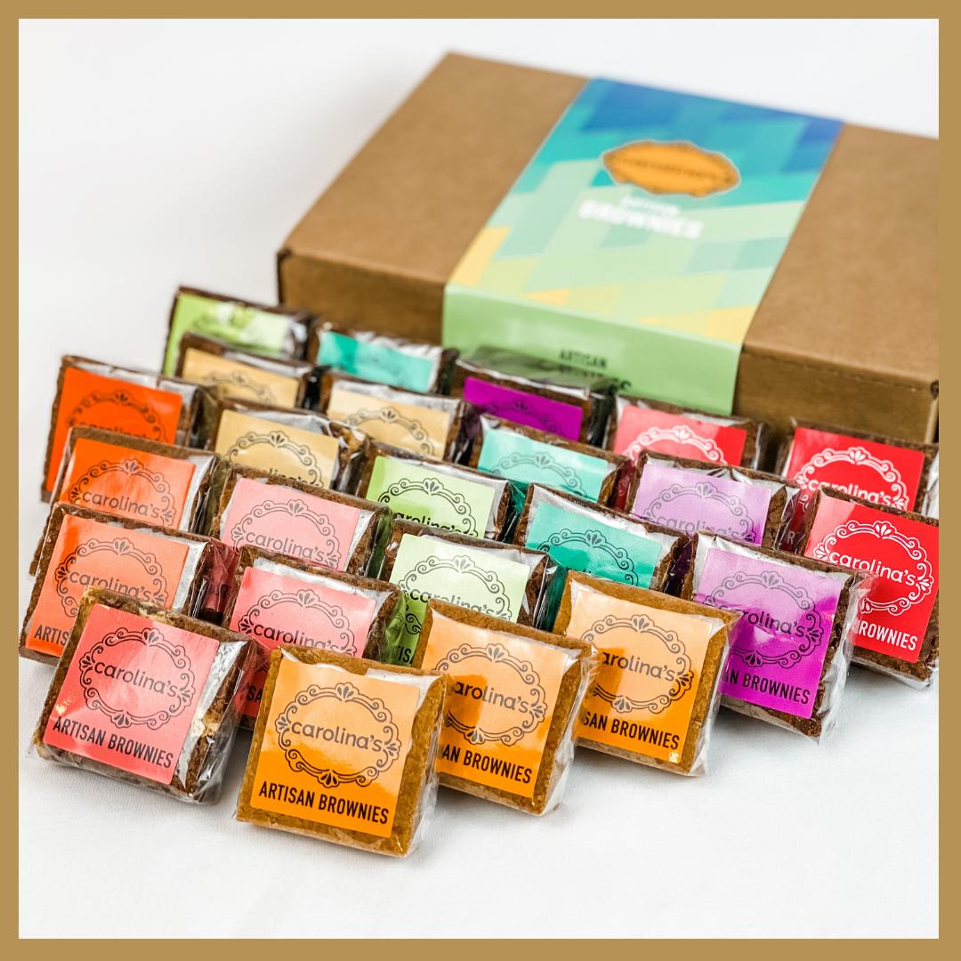 Carolina's 48 Brownies Gourmet Gift Box