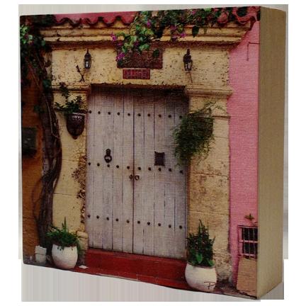 Wood Block - Cartagena Door