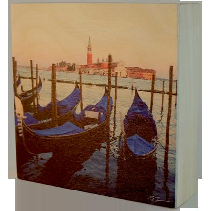 Wood Block - Gondolas