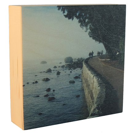 Wood Block - Seawall