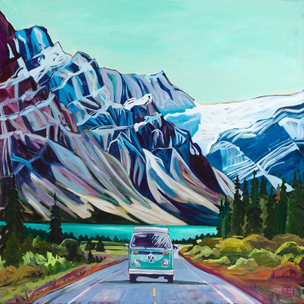 Jennifer Elliotson, Canadian Landscape Artist - Rocky Mountains