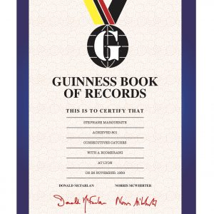 Guinness book record