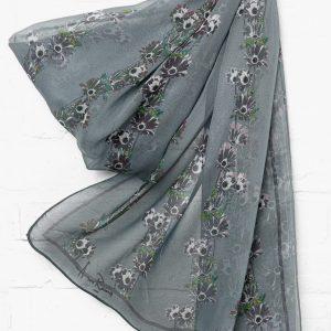 Grey Mums scarf