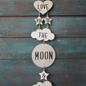 I love you to the moon and back mobile