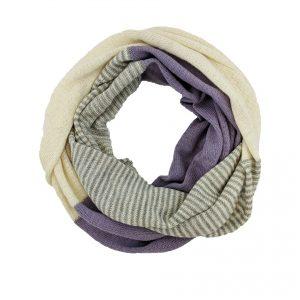 Alpaca Infinity Scarf Stripes