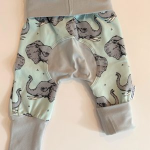 mint elephant grow along pants