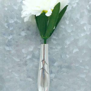 Upcycled Fridge Magnet Bud Vase