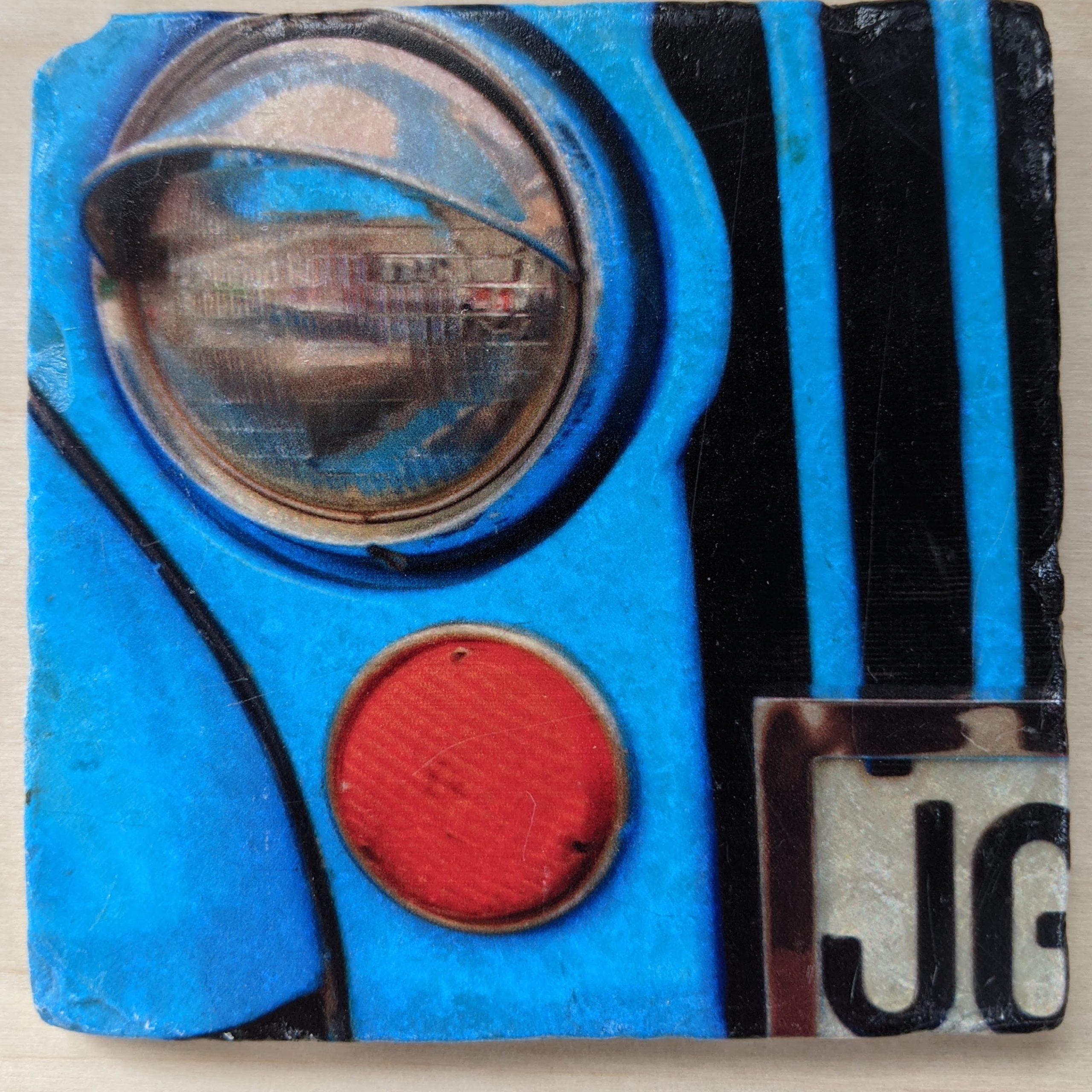 Jeep - Marble Art Coaster