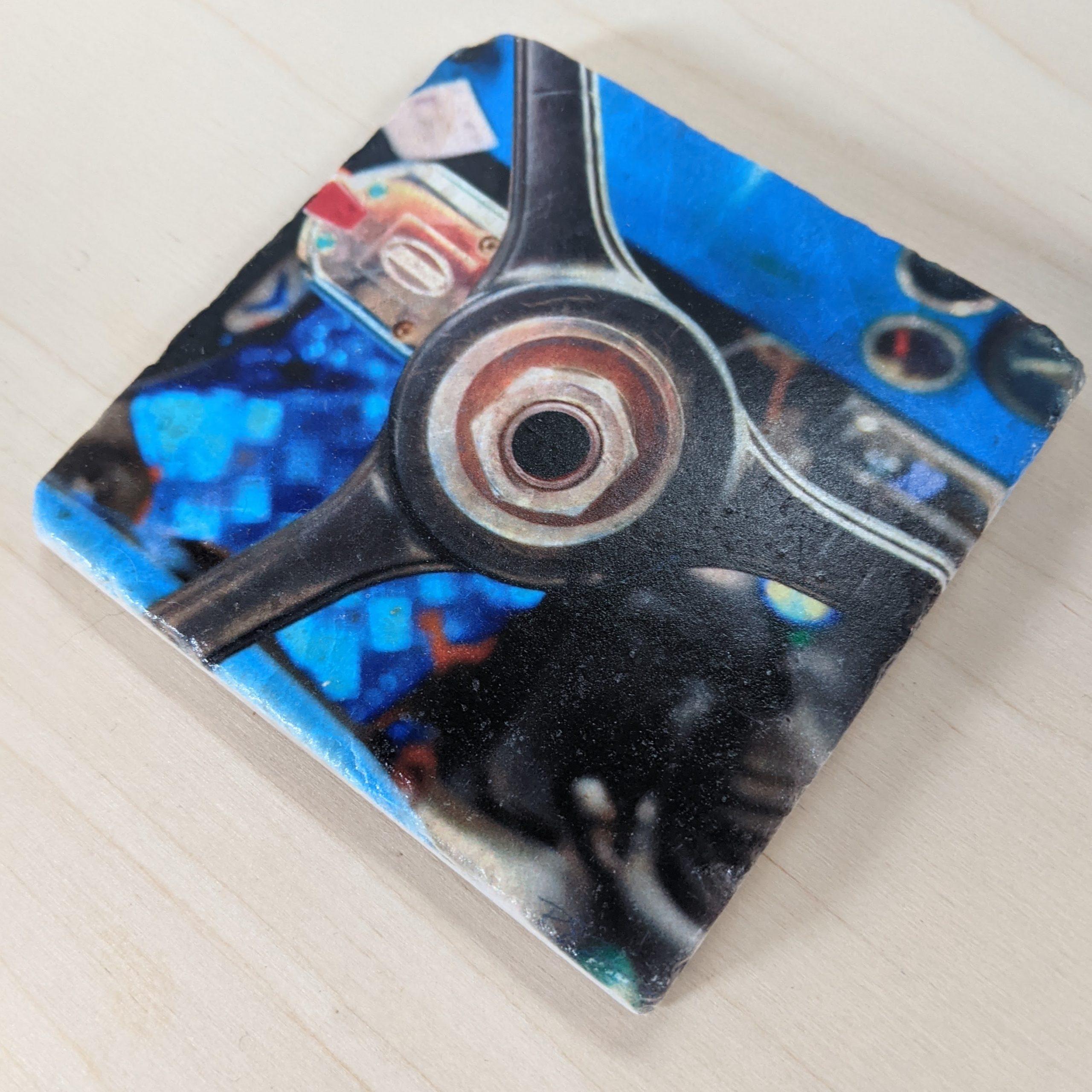 Jeep - Marble Art Coaster -02