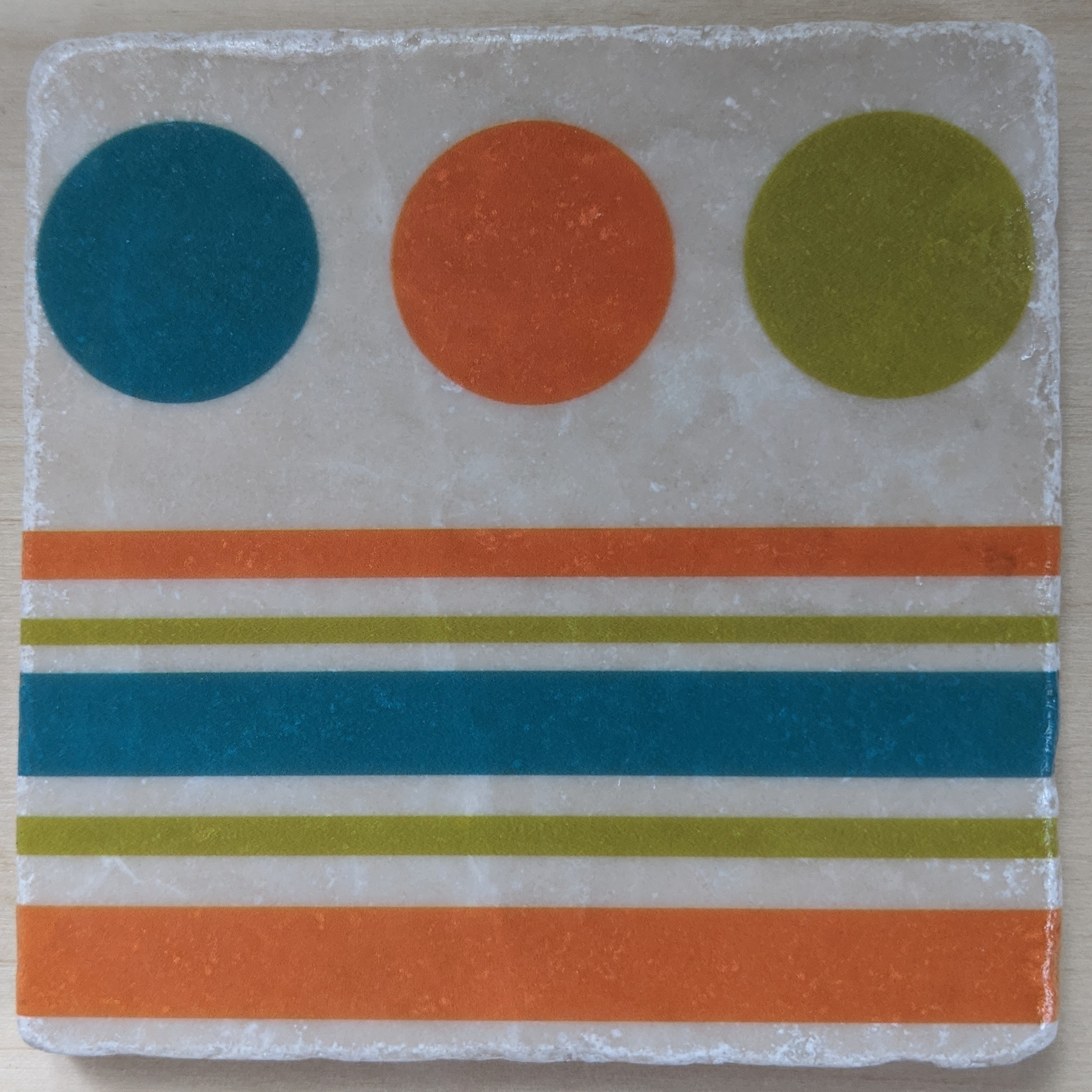 MCM-Marble Art Coasters Circles-01A-1